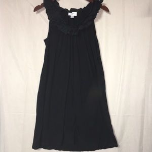 Ann Taylor Loft black dress MEDIUM